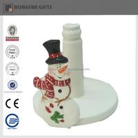 cute porcelain snowman to christmas deco