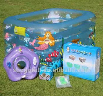 Popular clear high quality inflatable swim pool kid toy product