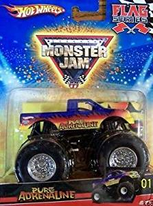 Hot Wheels Monster Jam 2010 Pure Adrenaline Flag Series #8/75, 1:64 Scale (Small Truck)