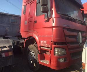 Low price 336hp SINOTRUCK SINOTRUK 336hp used HOWO trailer head truck head tractor truck