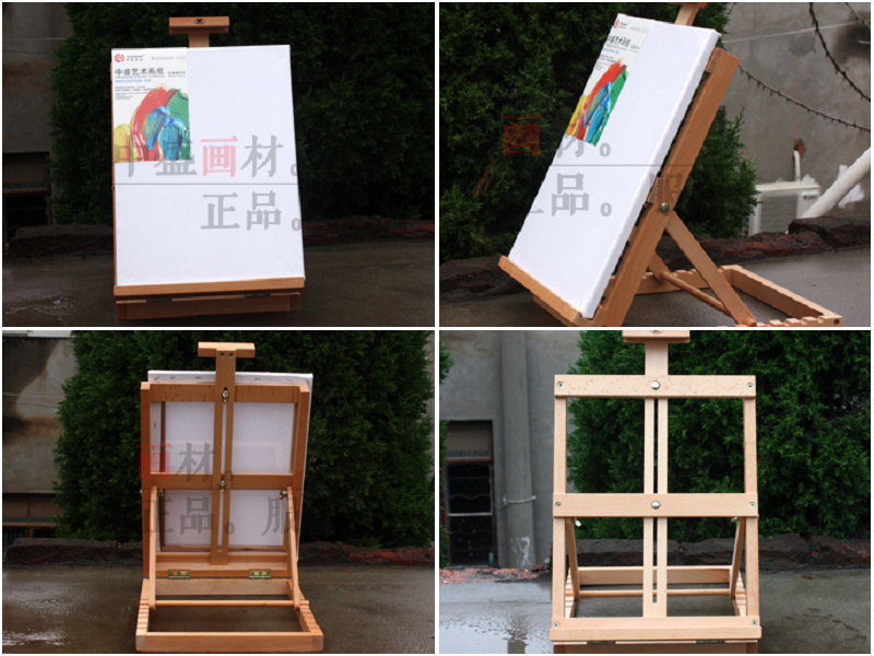 China Wholesale High Quality Wooden Natural Table Top Easel