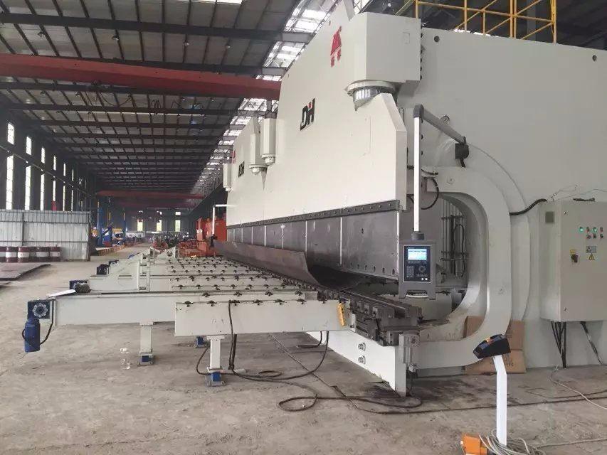 Cnc Wadf Series 2000t10 Meter Steel Welded Rack Cnc Press ...
