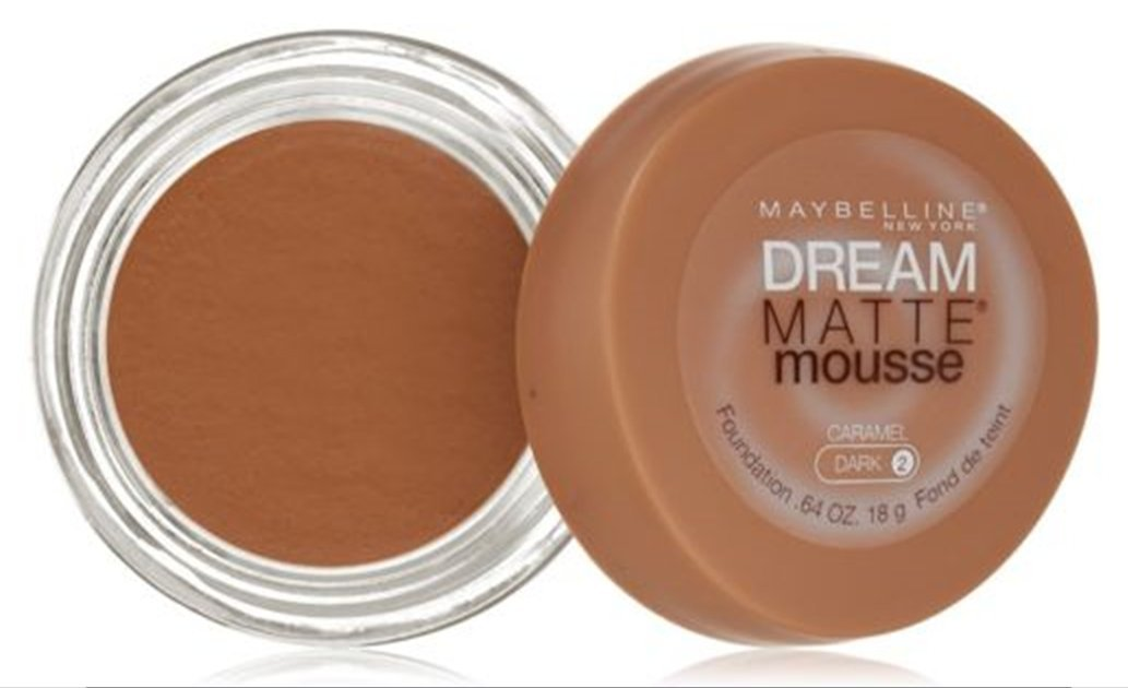 Maybelline Dream Matte Mousse Foundation – Caramel (Dark 2)