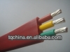 YGC high temperature resistance silicone rubber 3 wire cable manufacturer