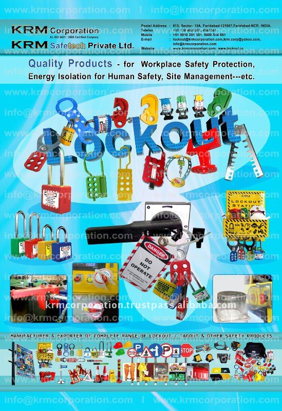 krm lokout + safety items