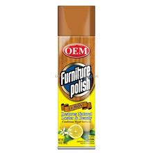 Hot items shining furniture polish spray