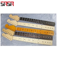 electric guitar neck with fingerboard,guitar ST neck