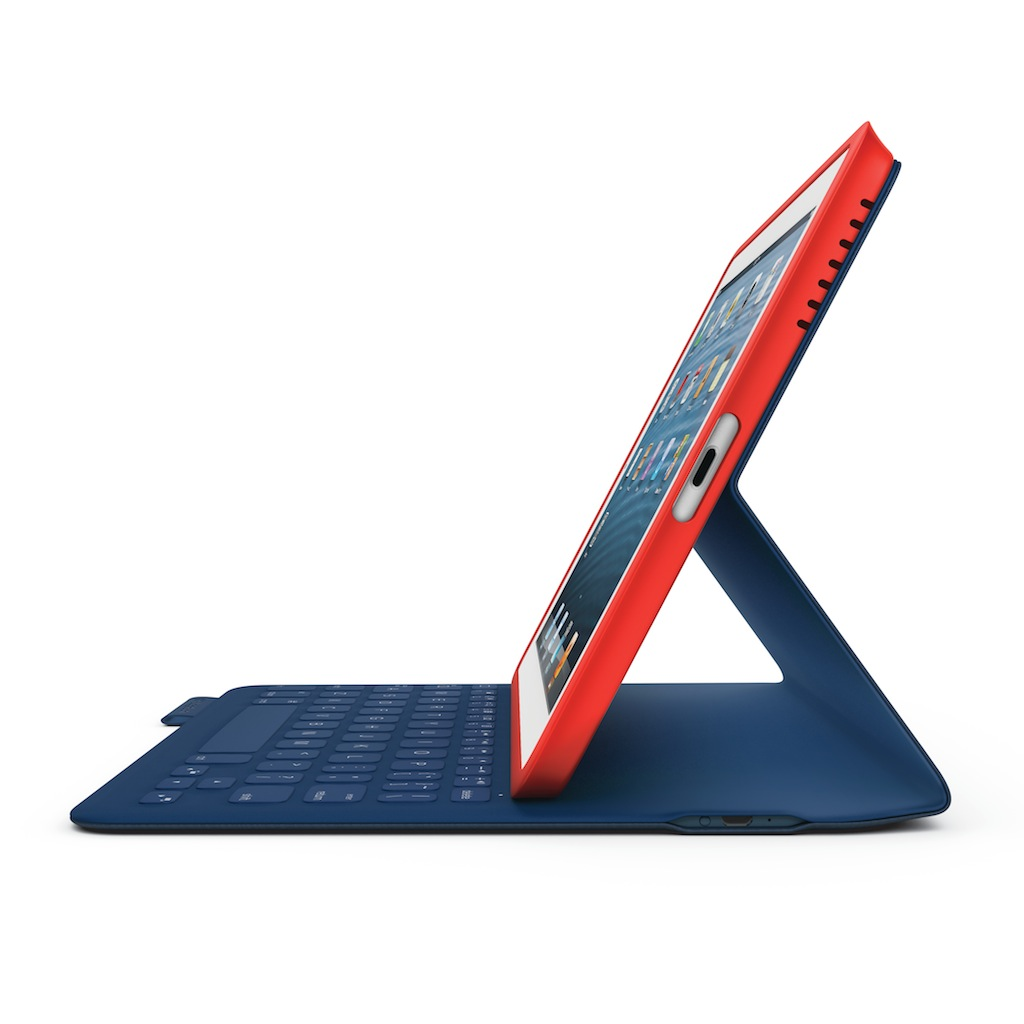 Ultra slim FabricSkin Folio Blutooth keyboard for iPad mini / iPad