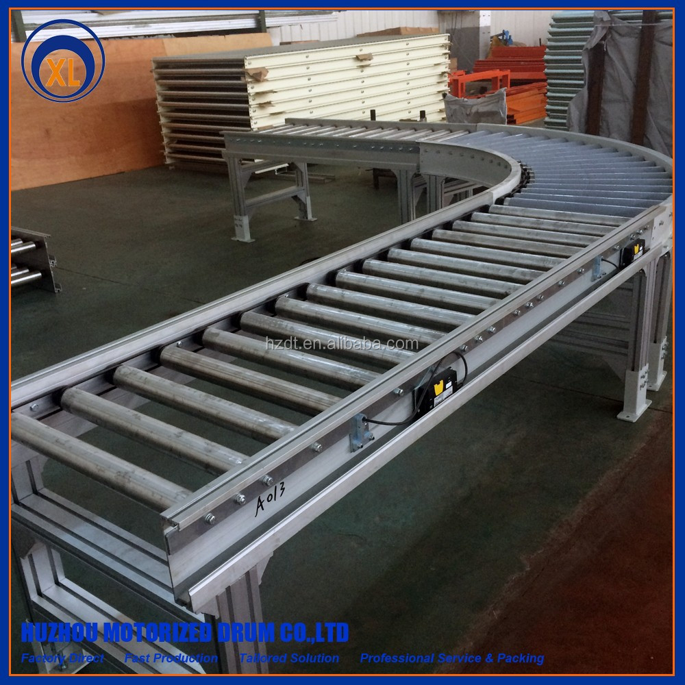 curved motorized roller conveyor price the best