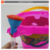Happy plastic sand toys barrel kids beach bucket toys set 9pcs