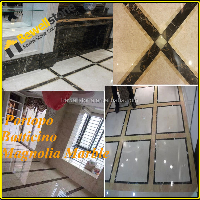 Spagna marrone scuro luce marmo emperador bagno di design for Mattonelle design