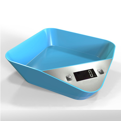 Factory wholesale 3kg new hand plastic kitchen scale with <strong>weights</strong>
