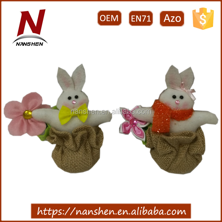 hanging wholesale easter decoration bunny
