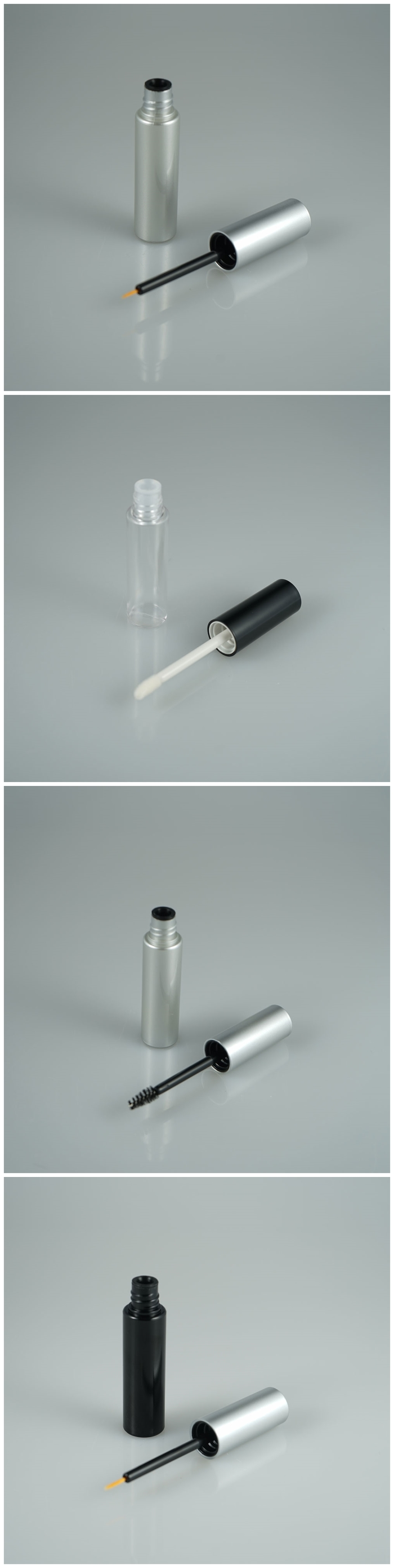 abe2111bb93 Empty PETG mascara tube, mascara container, eyelash brush for castor oil 8ml