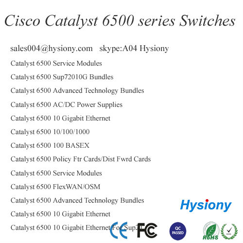 VS-C6506E-S720-10G Catalyst Chassis+Fan Tray+Sup720-10G IP Base ONLY incl. VSS