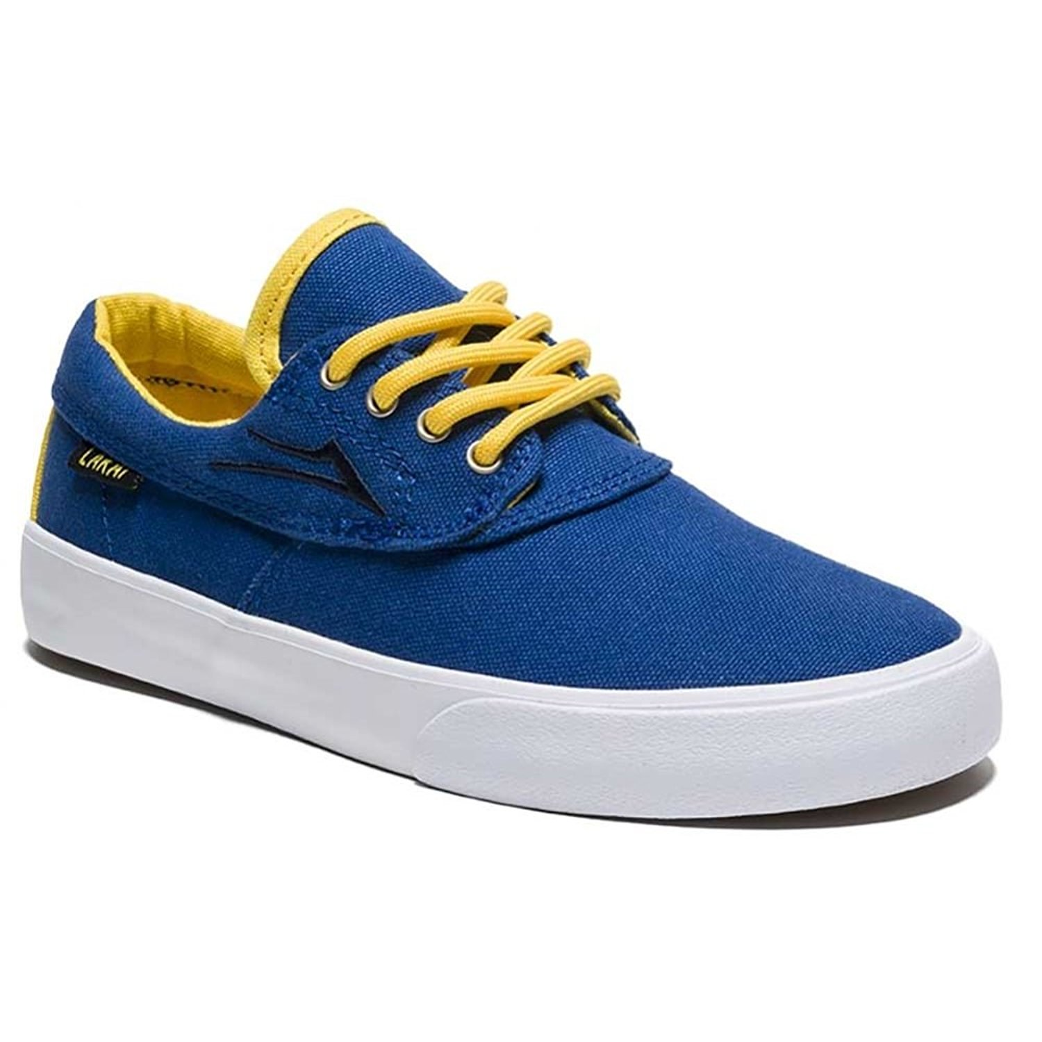 a82589b859ab Get Quotations · Lakai Camby Kids Skate Shoes in Royal Canvas