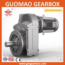 China manufacturer GR series flange mounted helical gear box/gear reducer