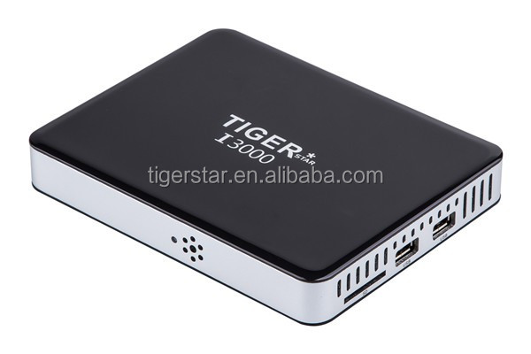 Tiger Android TV Box Digital Satellite Receiver I3000 DVB-S2 Set Top Box