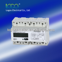 RS485 DIN Rail Three Phase LCD Electronic energy meter /electricity meter /kWh meter LEM021GC / GB / AC / AB