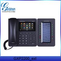 Grandstream GXP2200 POE/USB/SD/EHS voip USB skype phone