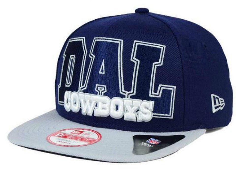 eafc3c77b7b Get Quotations · Dallas Cowboys New Era Big City Wordmark Snapback One Size  Fits Most Hat NFL Authentic Cap