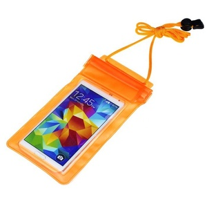 Cheap Colorful PVC+ABS Zipper Waterproof mobile phone bag for all phones