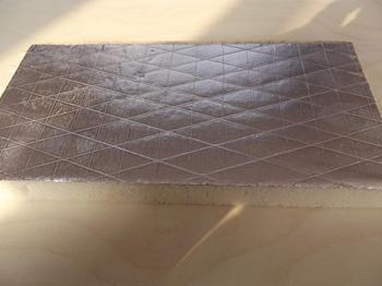 Rigid Foam Polyurethane Insulation Aluminium Foil Faced