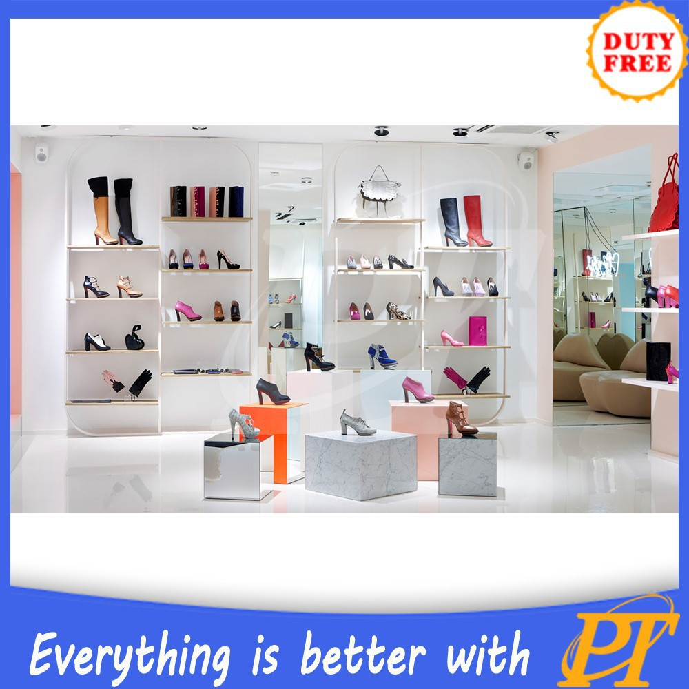 shoes furniture. Shoes Store Furniture Wood Glass Shoe Display Rack