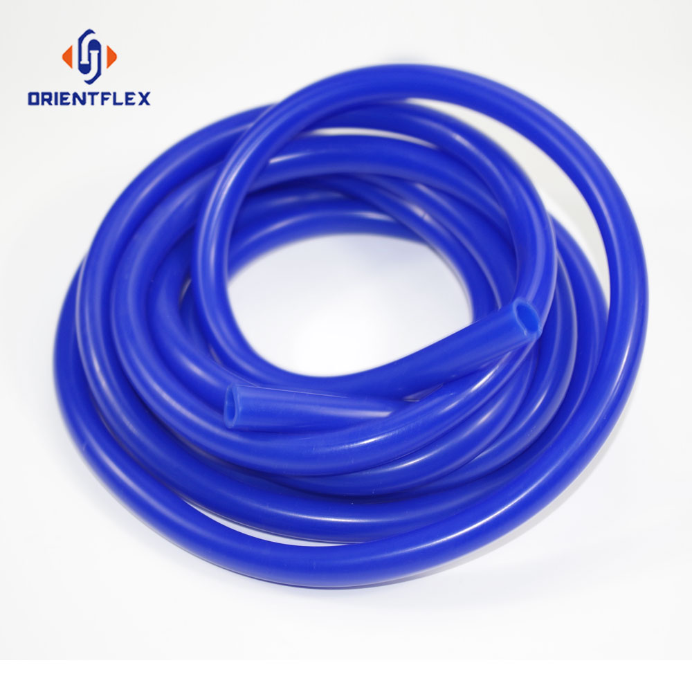 Superior light weight heat resistant exhaust 2mm silicon rubber tube manufacturers