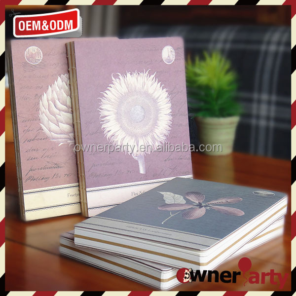 Craft Paper Custom School Notebook High Quality Gifts Crafts