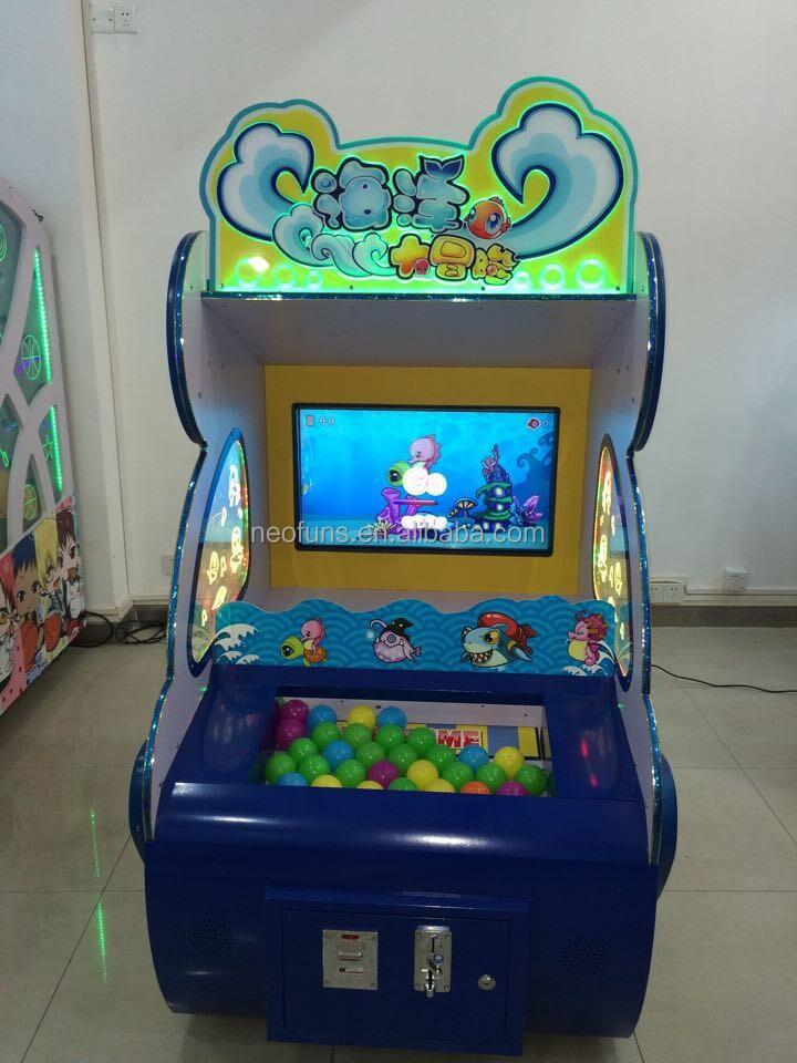 Sea Adventure Ninos Moneda Operado Maquina De Juego Nf R49b Juegos
