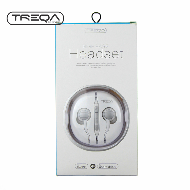 High Bass Earphone 3.5 mm headset For Apple iPhone 6 6 plus earphones