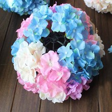 wholesale satin ribbon handmade silk flowers wholesale canada hydrangea ball for wedding