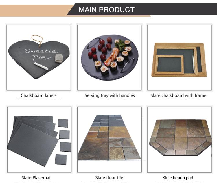 فريد جودة عالية الحجر الطبيعي 10-15 مللي متر 15-20 مللي متر 20-25 مللي متر لائحة بلاط الأرضيات تصاميم