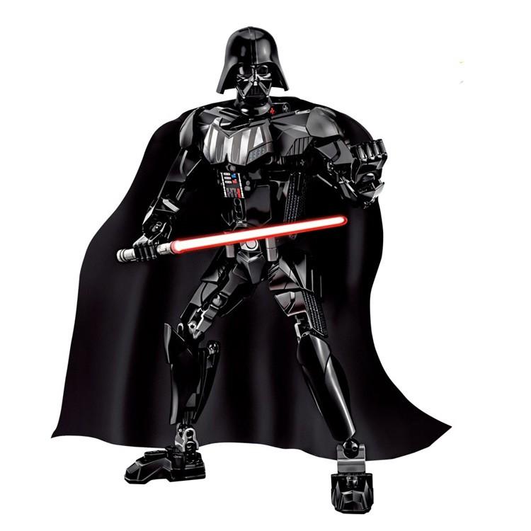 UKLEGO 160pcs Star Wars Blocks Darth Vader Figures Building Bricks Set Toy Compatible With Starwars