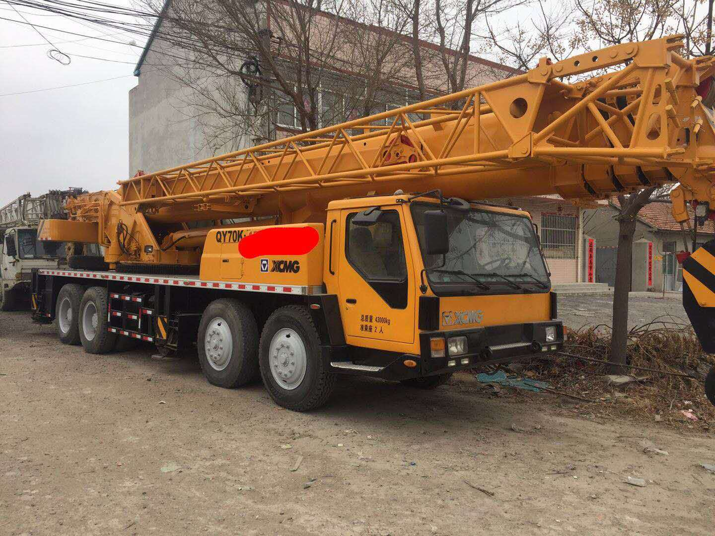XCMG QY70K (CE) 70t Telescopic Truck Crane For Sale