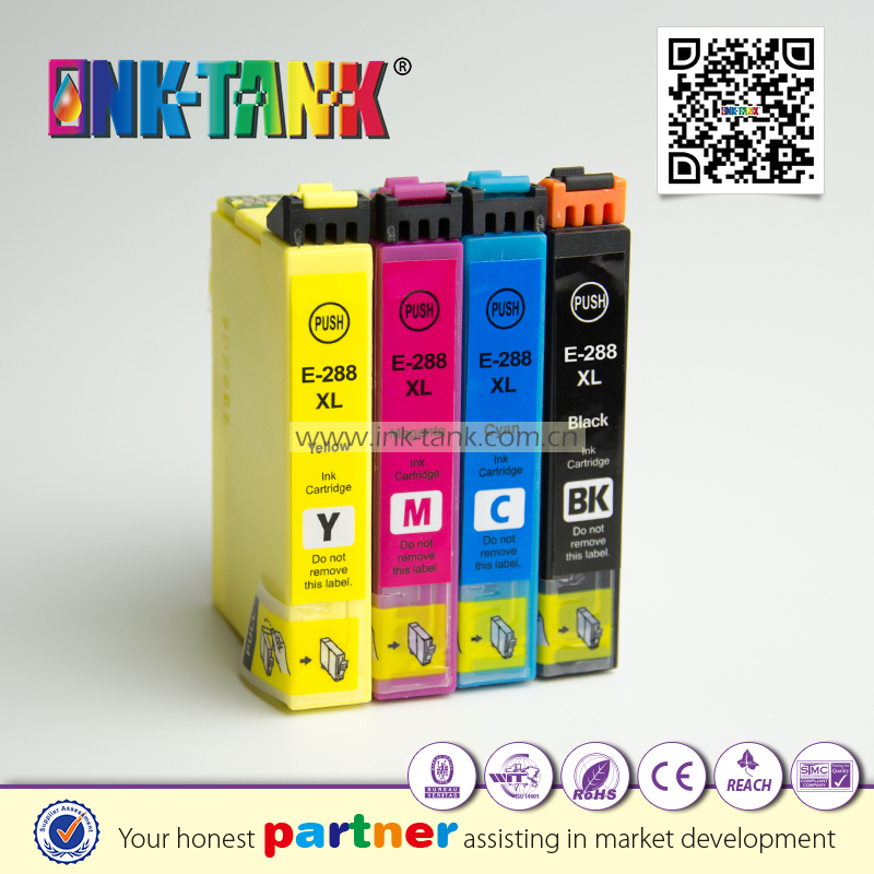 288XL ( T2881 T2882 T2883 T2884 ) printer ink cartridge works XP-240 XP-330 XP-340