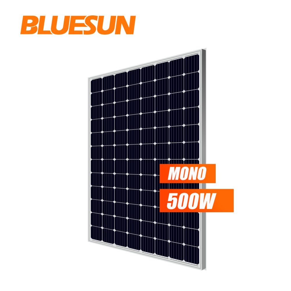 High quality pv panel 500watt single solar panel 500w paneles solares