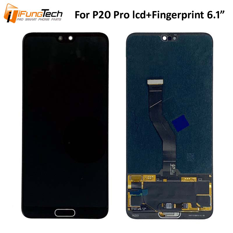 For Huawei P20 Pro LCD Screen Touch Display Digitizer Assembly Replacement display with fingerprint LCD For Huawei P20 Pro