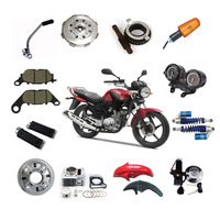 Manufactory wholesale Genuine OEM quality YBR125 motorcycle parts YBR125 engine parts