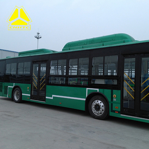 sinotruk howo luxury used solar electric bus