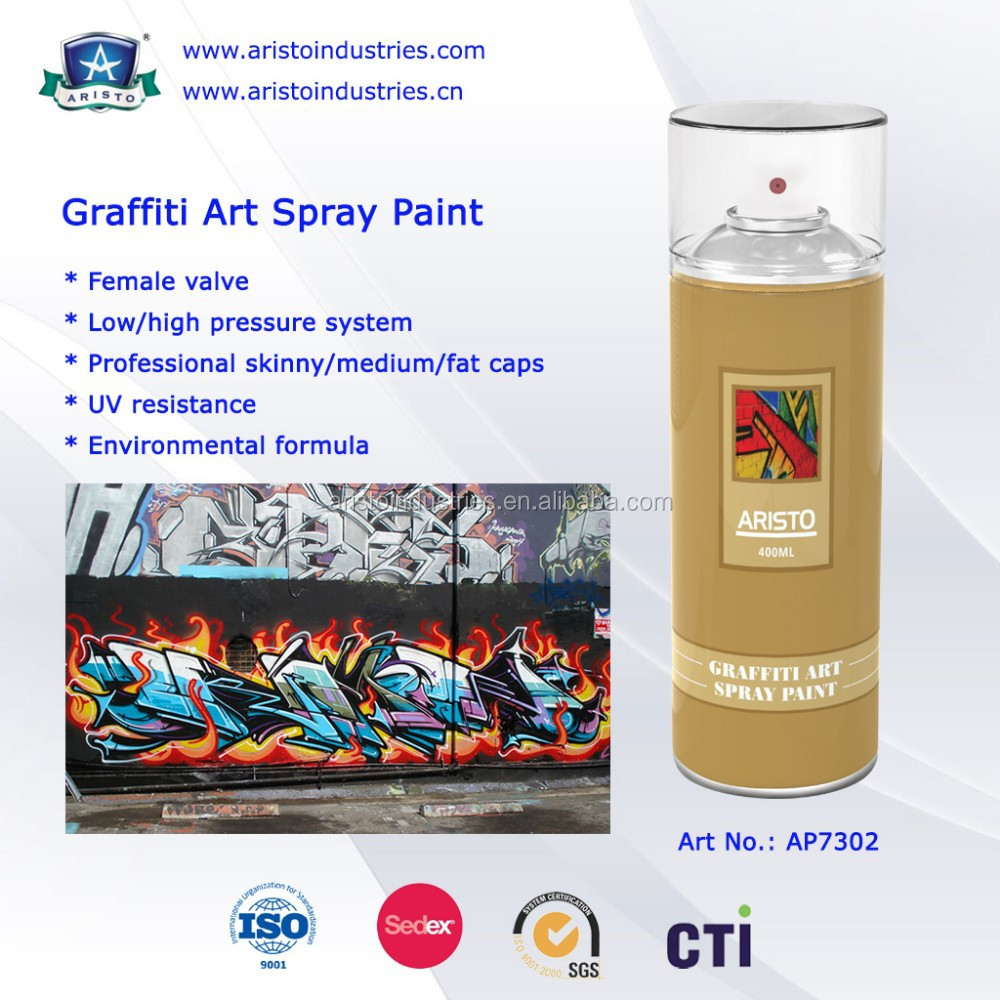 Art Primo:Aristo Graffiti Spray Paint
