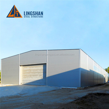 Qingdao steel structure frame warehouse project design