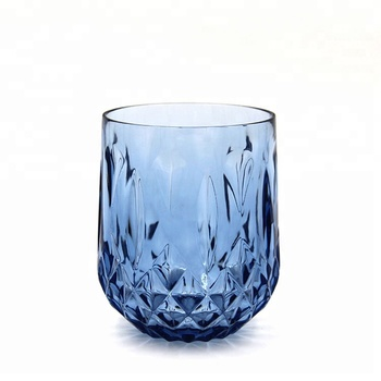 Wholesale high quality clear tumbler cup polycarbonate glasses plastic long drink cups