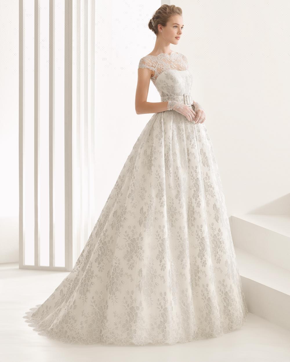 Modern Cinderella Wedding Dress