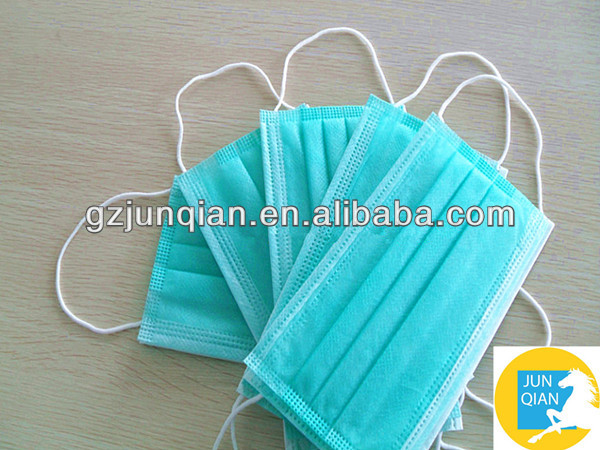 Disposable medical non-woven material