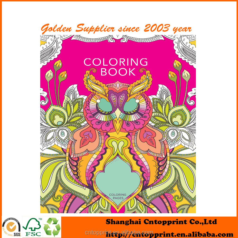 Co coloring book printer paper - Magic Adult Coloring Book Printing Magic Adult Coloring Book Printing Suppliers And Manufacturers At Alibaba Com