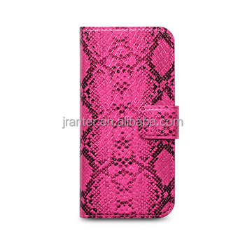 Genuine Python Side Cover for Iphone 4 4S, Leather Custom for Iphone Cover
