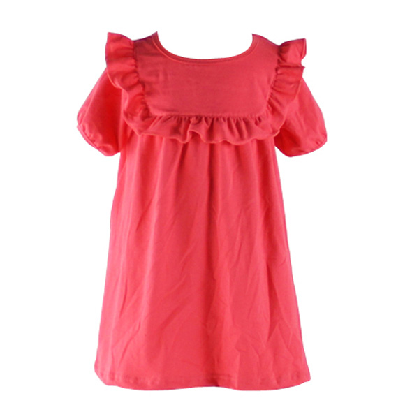 Fancy dresses for girls childrens boutique casual clothing wholesale ruffle dresses