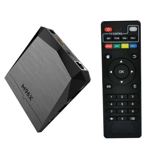 China Maufacturer Android 6.0 M96X <strong>Amlogic</strong> S905x <strong>Tv</strong> <strong>Box</strong> 2gb 8gb Smart Media